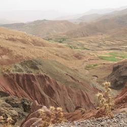 Von Marrakesch nach Ouazazarte - Atlasgebirge