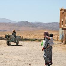 Tazenakht - auf der Fahrt in die Wüste Marokkos