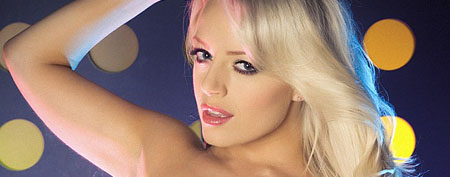 Hannah Claydon First Babestation Topless Shoot