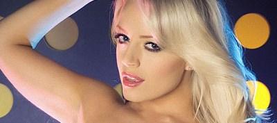Hannah Claydon First Babestation Topless Shoot