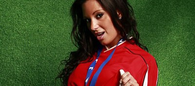 tiffany chambers is our babestation soccerette