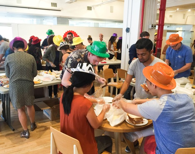 Volunteering with New York Common Pantry