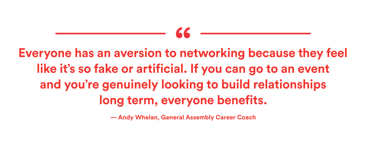 Nice Networking Tips Community Building Andy Whelan