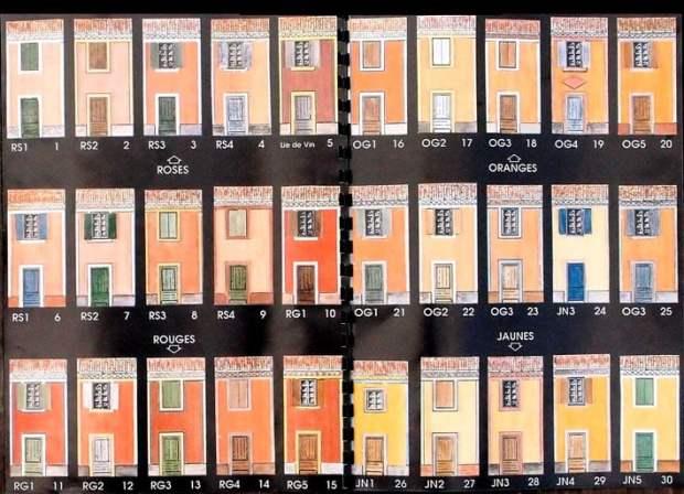 Pour des palettes de couleur par technique patrimoine for Couleur de facade