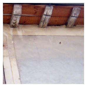 bord toit chevrons