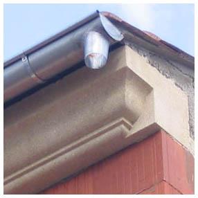 bord toit corniche neuve