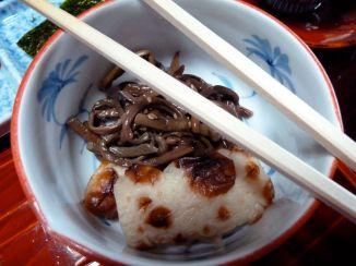 Petit-déjeuner, au ryokan à Takayama