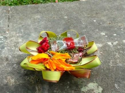 Près d'un temple à Ubud.