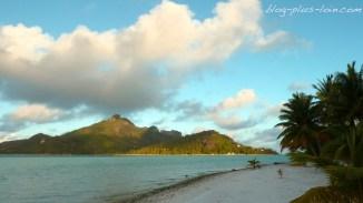 Maupiti, Polynésie française.