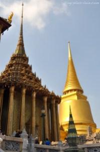 Au Grand Palais, à Bangkok. Thaïlande.