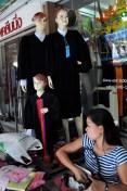 Boutique de rue, à Bangkok.