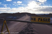 La grande dune. Valle de la Luna. Désert d'Atacama. Chili.