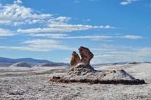 Valle de la Luna, site des Tres Marias. Désert d'Atacama. Chili.