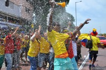 Jour de match Colombie - Côte d'Ivoire