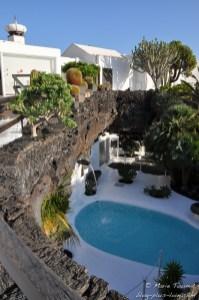 Lanzarote : Fondation Manrique (maison de l'artiste)