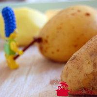 Récolte et nettoyage de patates du mois de novembre