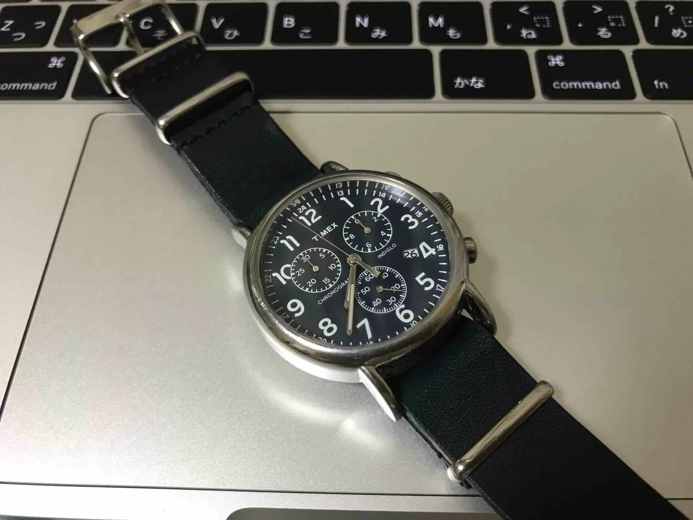 腕時計、TIMEX