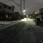 雪の降る町は一大アトラクションやでの巻