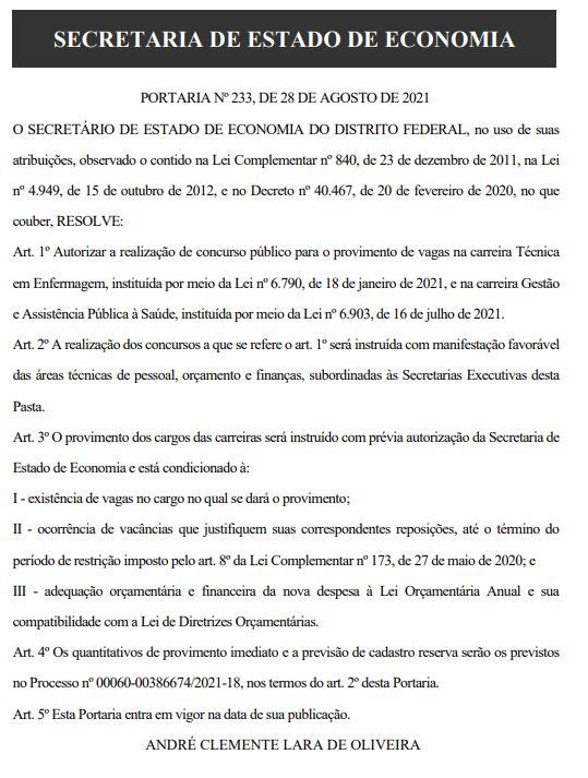 SES DF tender: authorization for new public tender