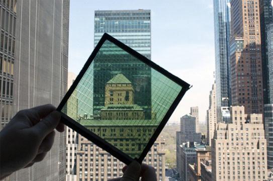 Transformez vos fenêtres en panneaux solaires