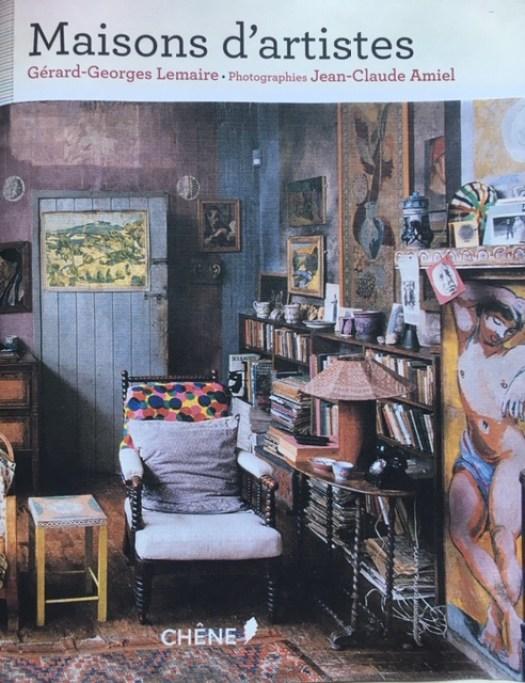 livre Maisons d'artistes édition Chene