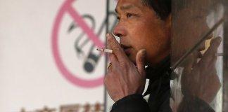 Mesures anti-tabac en Chine