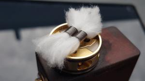 Utilisation du coton dans la vape
