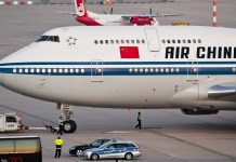 pilotes pilots air china