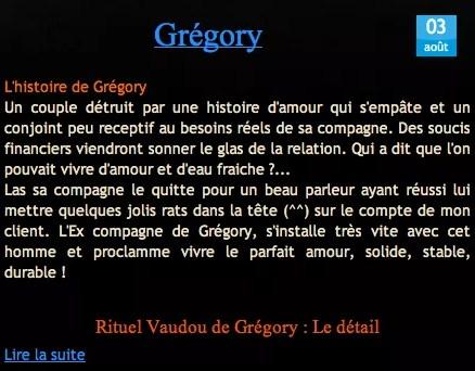 Cliquez et Découvrez le Témoignage de Grégory