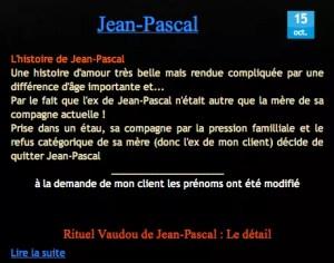 Cliquez et Découvrez le Témoignage authentique de Jean-Pascal