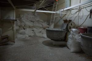 Akaba - Bäckerei und Mehlsäcke