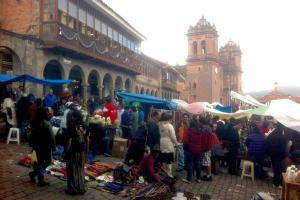 Markt in Peru besuchen