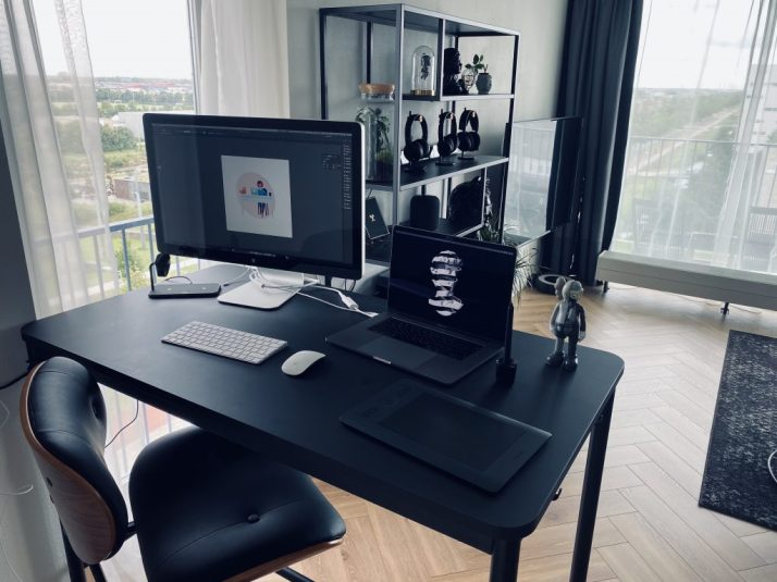 Working from home set up