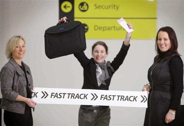 Fast track aéroport : Affait sur l'incençage de votre vol?