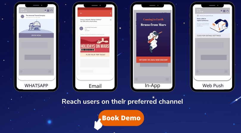 reach users on their preferred channels