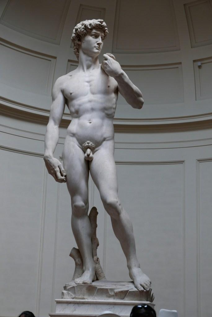 7 dias pela Itália. David, de Michelangelo.