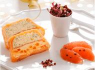 Terrine de saumon et Domaines Ott