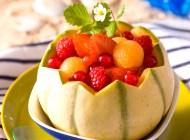 Melon aux fruits rouges et Miraval Rosé