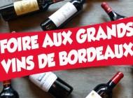 La Foire aux Grands Vins de Bordeaux de 12bouteilles, c'est dans un mois !