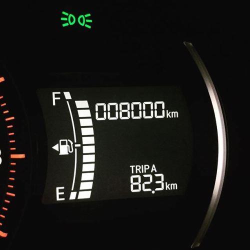 ようやく8000km到達!