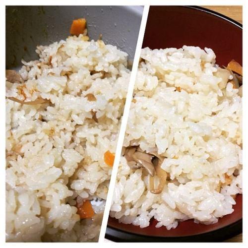 お鍋で炊き込みご飯!美味しく炊けました(笑) #炊飯 #ライスクッカー #炊き込みご飯