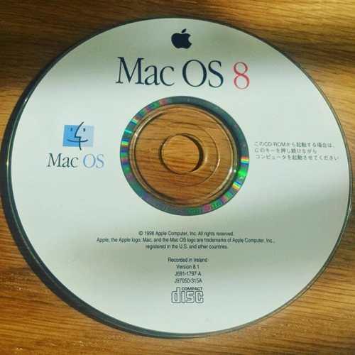 スゴイもん出てきた(笑) #MacOS8 #macintosh