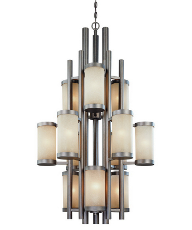 2623 66 Large Foyer Chandelier From Dolan