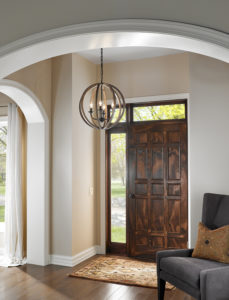 foyer lighting sure to wow your guests