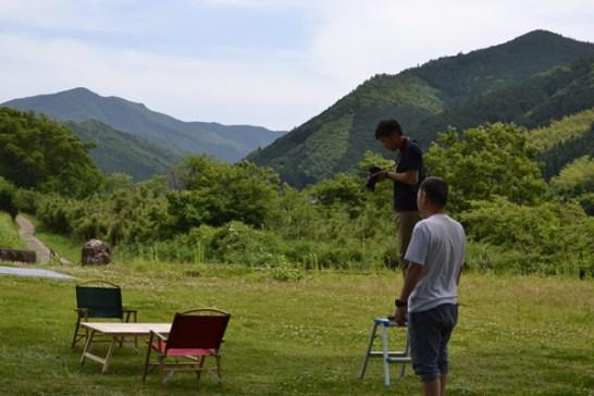 196 キャンプ用品 撮影