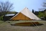 ベルテント CanvasCamp Sibley 500 スタンダード(キャンバスキャンプ シブレー500)を購入しました^^