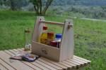 キャンプの必需品! キッチンペーパーがすっきりと収納できる調味料ラックを作りました!!