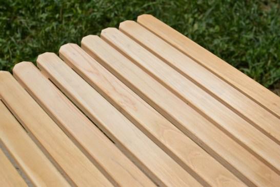 キャンプ テーブル ウッドテーブル 木製テーブル お手入れ方法