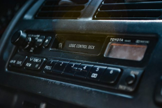 Automotive Cassette Player