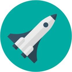 an image of a rocket